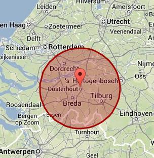 werkgebied Oosterhout